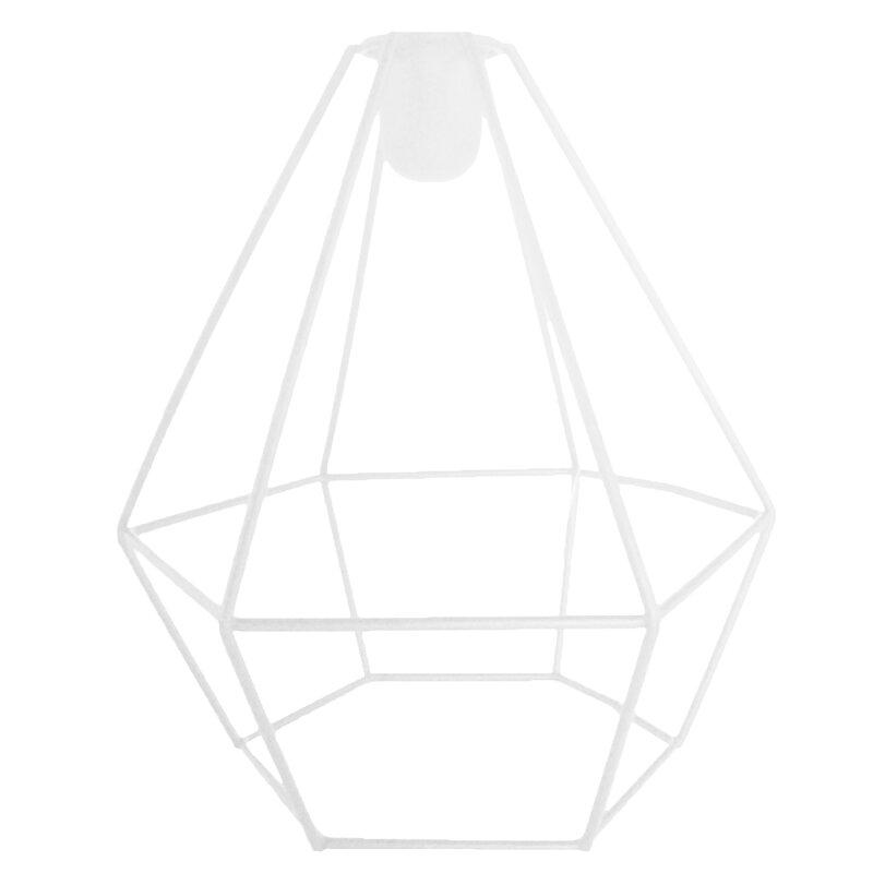 metall kerzenst nder wei diamant geometrisch prisma ca 16 5 cm hoc. Black Bedroom Furniture Sets. Home Design Ideas