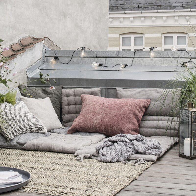 sitzkissen field grau sitzunterlage 50x50 cm f r. Black Bedroom Furniture Sets. Home Design Ideas
